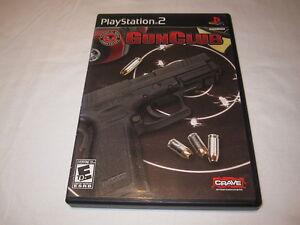 Gun-Club-NRA-Game-Playstation-PS2-GunClub-Original-Release-Complete-Nr-Mint