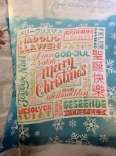 X6 Emma Congdon Merry Xmas Welcome Sampler Christmas Cross Stitch Chart