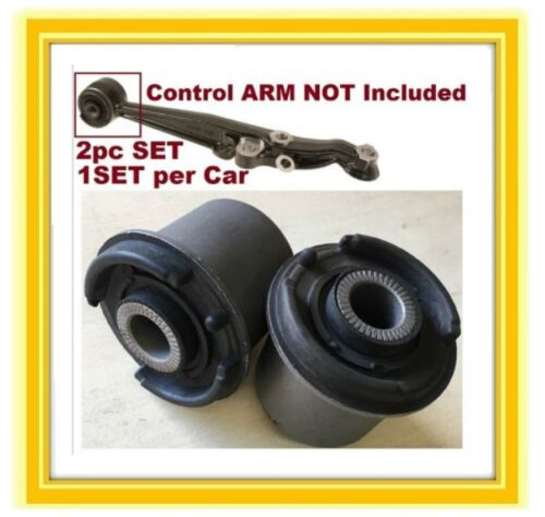 2 Front Lower Control Arm Bushings For Lexus GS300 00-04 400 99-00 430 00-04 123