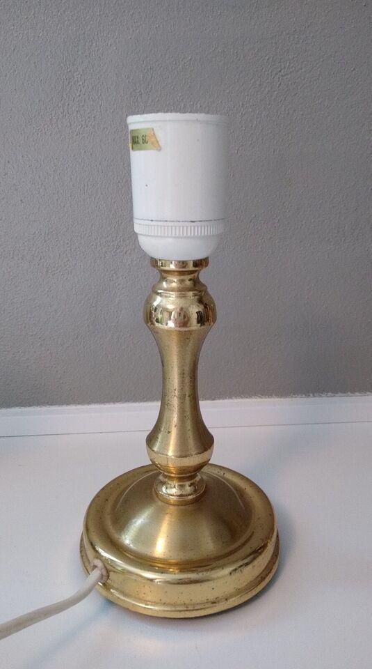 Anden bordlampe, Messing vintage lamper