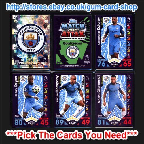 Match Attax 2016//2017 elija tarjetas * equipos M * por favor