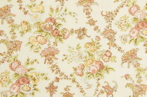 Quilt-Gate-Cottage-Shabby-Chic-Mary-Rose-Jessica-2130-14A-Cream-Small-Roses-BTY