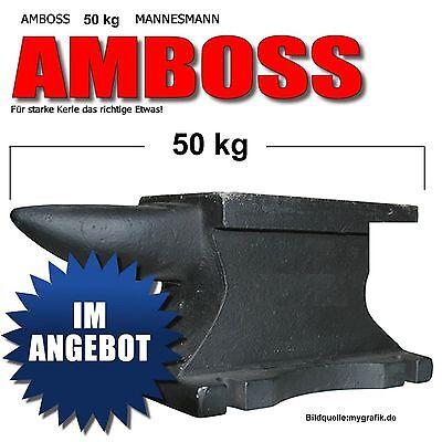 AMBOSS 50 kg MANNESMANN EINHORN AUSFÜHRUNGM PORTOFREI 710-50