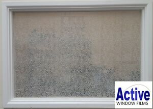 Image Is Loading Patterned Decorative Swirls Circles Frosted Window Film Privacy