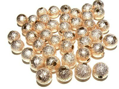 Premium Quality Gold Stardust Beads 5 Sizes: 4mm~6mm~8mm~10mm~12mm~ lady-muck1
