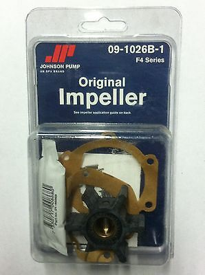 Johnson Water Pump IMPELLER KIT 09-1026B-1 F4 Series 091026B1
