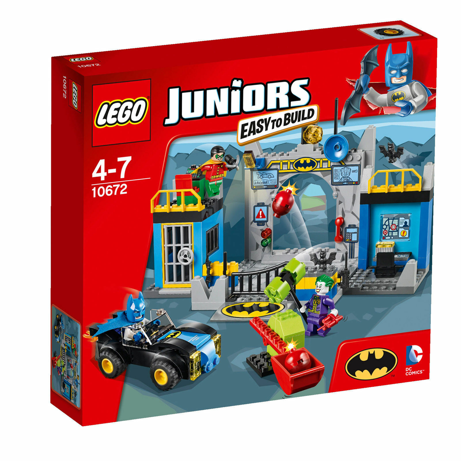 LEGO Juniors Batman Verteidigung der Bathöhle (10672) NEU OVP