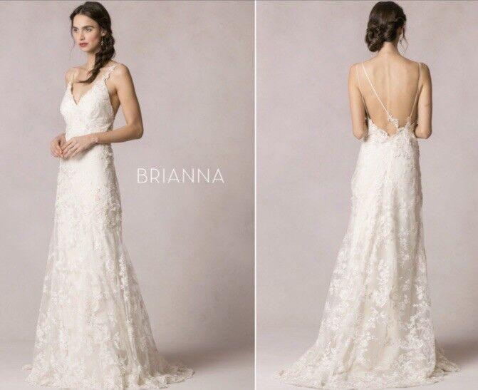 Jenny Yoo Brianna Wedding Gown - Size 6