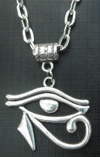"""20 /""""o de 24 pulgadas Collar /& Ojo De Horus ra encanto wedjat Colgante Regalo Souvenir"""