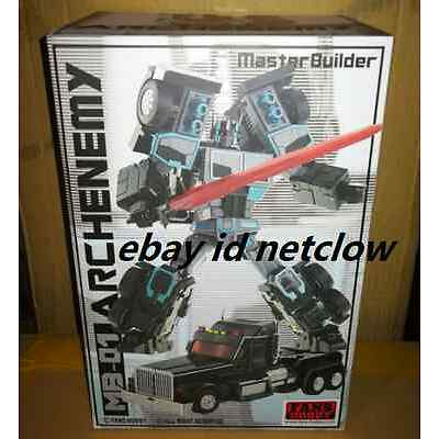 Transformers FansHobby MB-01 Archenemy Scourge Black Optimus Prime in Stock