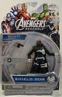 Nick Fury Avengers Assemble Shield Gear Jet Armor Marvel Universe Figure Mosc