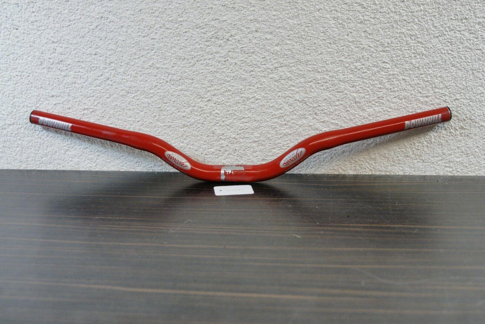 Amoeba Downhill Riser Rot Lenker 25,4mm Lenkerkl. 615mm Breite Kult Retro