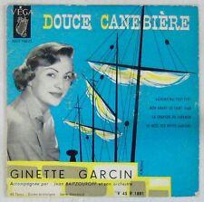 Ginette Garcin 45 tours 1957