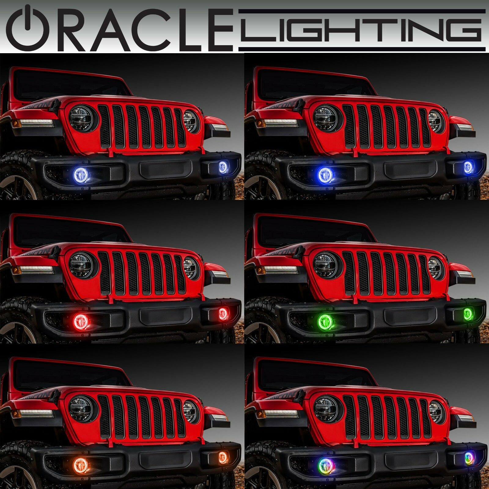 Acura Dealer In Brooklyn: ORACLE Surface Mount Halos For Fog Lights For 07-18 Jeep