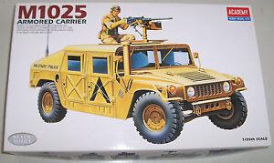 Academy 1:35 M1025 Armored Carrier No.1350 OVP neuwertig von 1992 - Niedersachsen, Deutschland - Academy 1:35 M1025 Armored Carrier No.1350 OVP neuwertig von 1992 - Niedersachsen, Deutschland