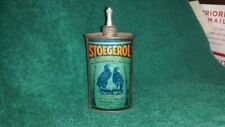 Stoegerol Blue Tone Gun Oil Tin Can Handy Oiler Powder Solvent Winchester