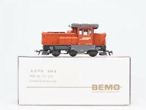 HOm-Scale-Bemo-1275-101-RhB-Gm-3-3-Diesel-Locomotive-231-DCC-Ready