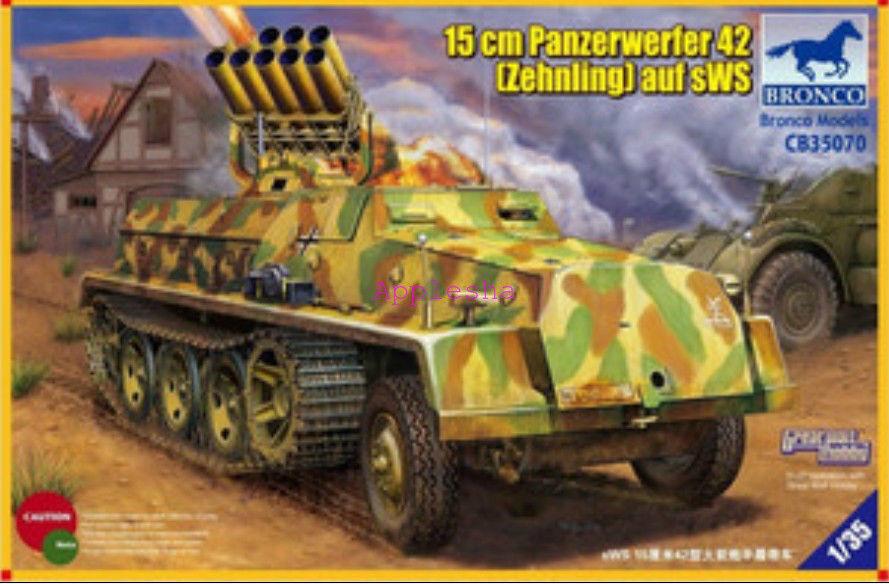 Bronco 1  35070 15cm Panzerwerfer 42 auf sWS