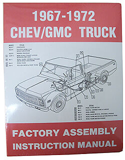 1967-72 CHEVY /& GMC TRUCK FACTORY ASSEMBLY MANUAL SM6772CT
