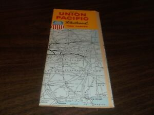 APRIL-1961-UNION-PACIFIC-SYSTEM-PUBLIC-TIMETABLES-REVISED-TO-JUNE-1961