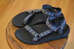 e1cc50cd8 Teva Hurricane Sport Sandals Water Shoes Men s US Size 10 M Style ...