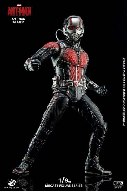 King Arts Diecast Figure Series Ant Man 1 9 Scale Action Figure