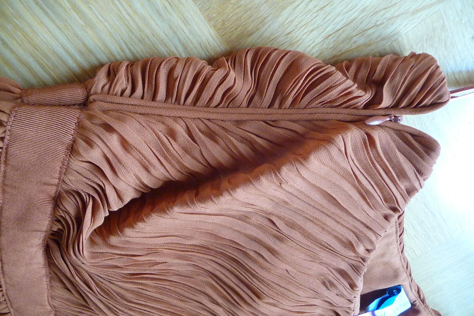 One -Shoulder-Kleid - CLUB MONACCO - Gr. 36 - - - neuwertig - cognac   Wirtschaft    Sehr gute Qualität    Ab dem neuesten Modell  2c8c73