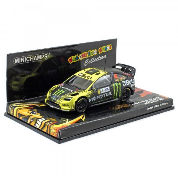 Minichamps 1 43 FORD Focus RS WRC Valentino Rossi Monza Rally 2009