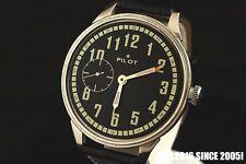 Soviet USSR manual winding MILITARY style wrist watch PILOT transparent back