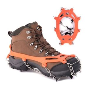 Mountaineering-Hiking-Crampons-Non-slip-Ice-Trekkers-Snow-Shoes-Chains-Gripper