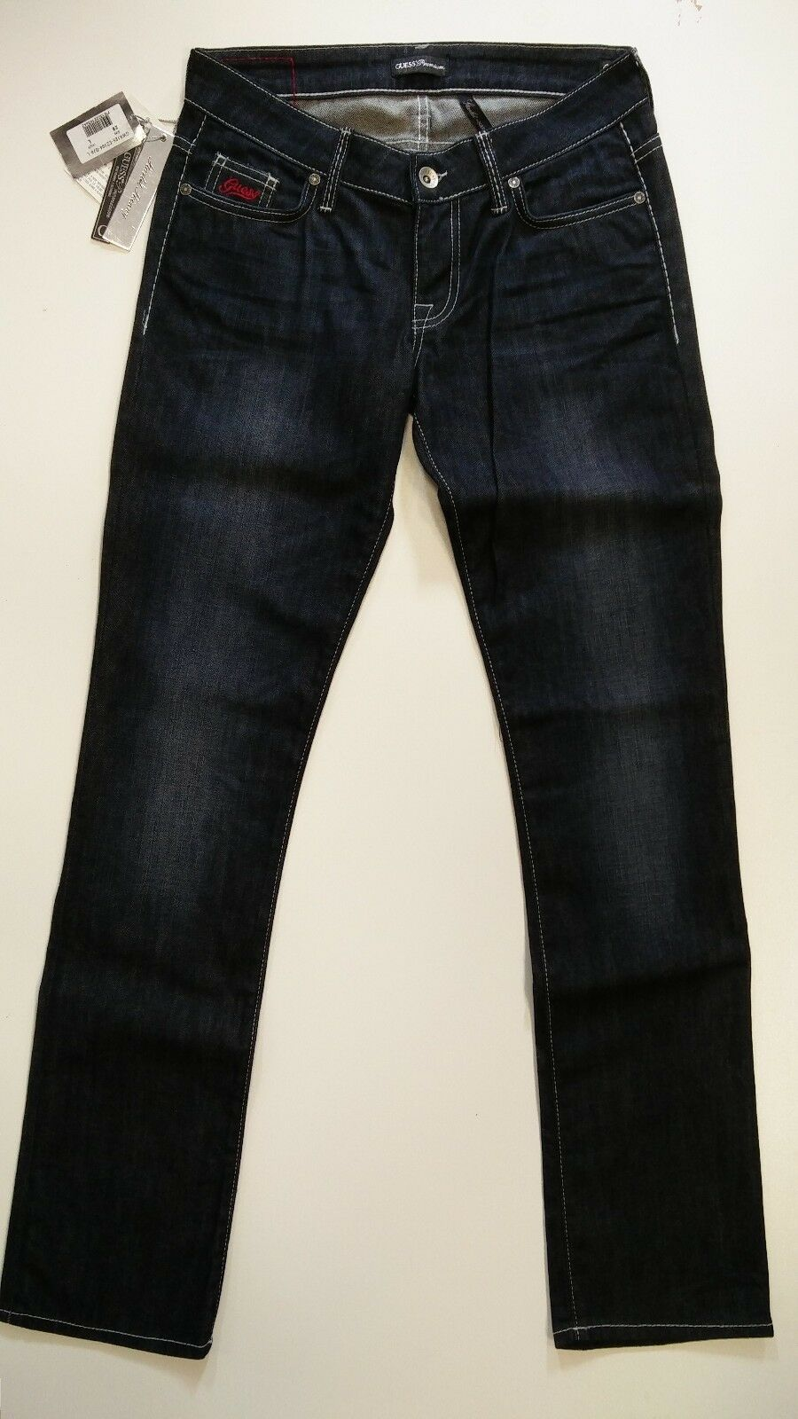 GUESS JEANS women GWA125-EZ394 Jeans Skinny Slim Fit Low Rise Denim bluee Jeans