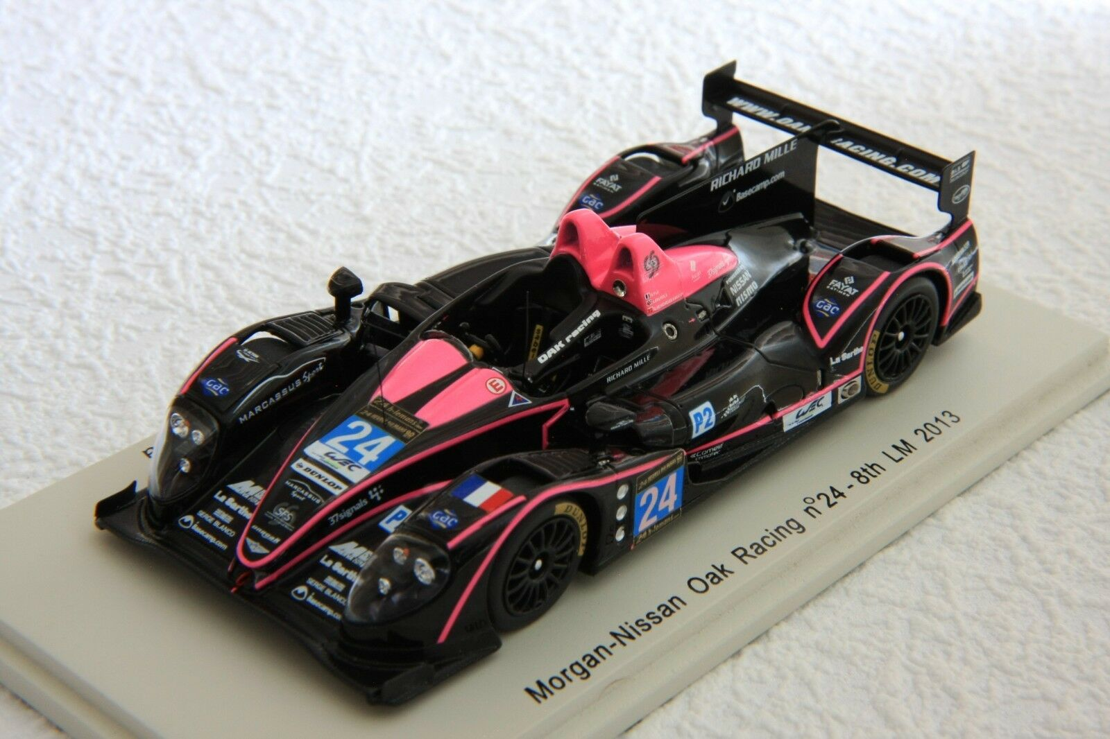 1 43 SPARK Morgan-Nissan OAK Racing,  24 Le Mans 2013