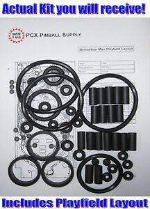 1966 Williams Full House Pinball Machine Rubber Ring Kit Pinball