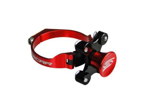 bloc fourche SCAR rouge Honda CRF 450 2004 à 2018 440712 Kit départ