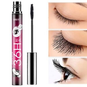 bae357c0dc7 4D Silk Fiber Eyelash Mascara Extension Makeup Black Waterproof Eye ...