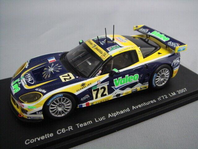 comprar marca Spark 1 43 Corvette C6-R C6-R C6-R Luc Alphand Aventures equipo Le Mans 2007  72 de Japón  estar en gran demanda