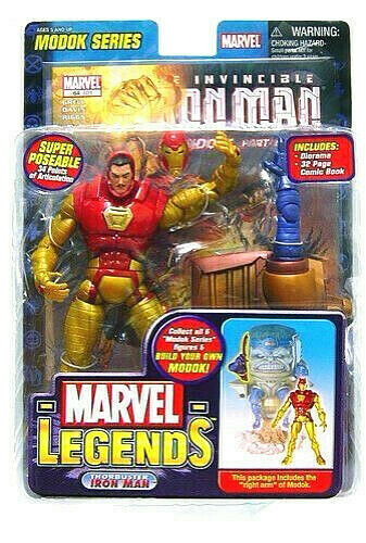 Marvel Legends Iron Man Thorbuster Figur PVC 16cm