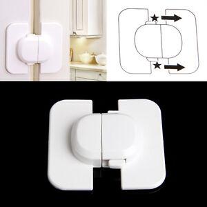 kids child baby pet safety lock proof door cupboard fridge. Black Bedroom Furniture Sets. Home Design Ideas