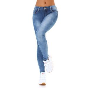 Jeans-Damen-Skinny-Jeans-Push-Up-Jeanshose