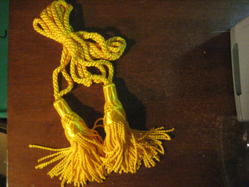 GHB silk drone cords color is golden rod gold