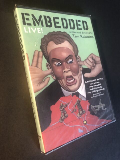 EMBEDDED Live! (DVD, 2005) Tim Robbins, Brand New, Middle East Satire