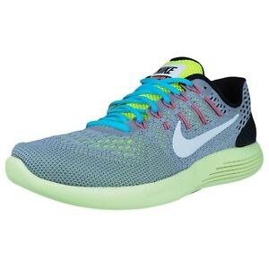 official photos 7173b d05f8 Image is loading NIKE-LUNARGLIDE-8-RUNNING-SHOES-WOLF-GREY-WHITE-