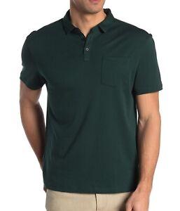 John-Varvatos-Star-USA-Men-039-s-Short-Sleeve-Burlington-Interlock-Polo-Algae-L