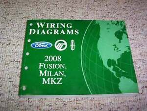 2008 mercury milan electrical wiring diagram manual i4 premier v6 Mercury Key Switch Wiring Diagram image is loading 2008 mercury milan electrical wiring diagram manual i4