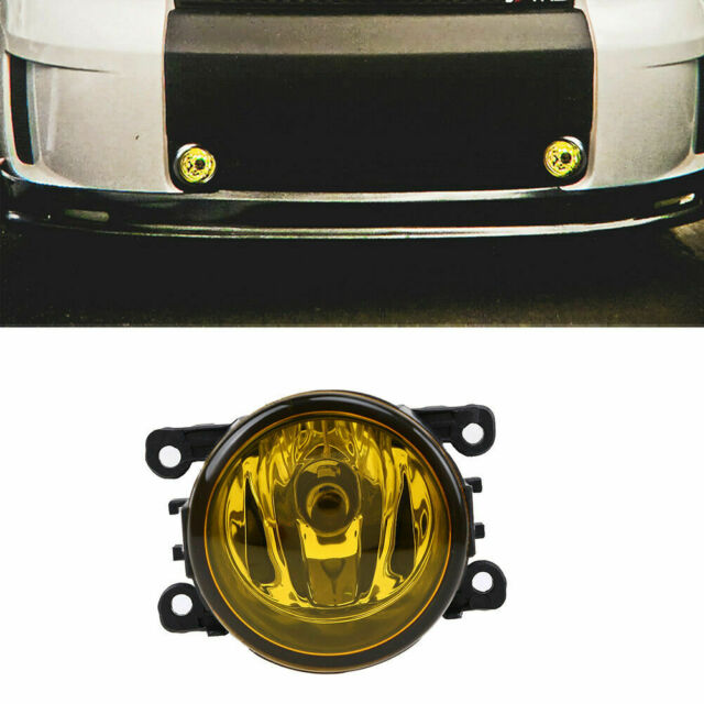 Fog Light Lamp H11 Bulb Yellow For Honda CRV Pilot Acura