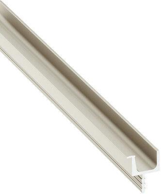 Häfele Glastür-Griff zum Klemmen 4-6 mm Glas Vitrinengriff Glasgriff H1008 Griff