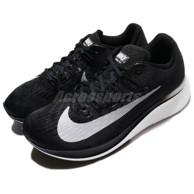 31be393ba Wmns Nike Zoom Fly Black White Women Running Shoes Sneakers Trainers  897821-001