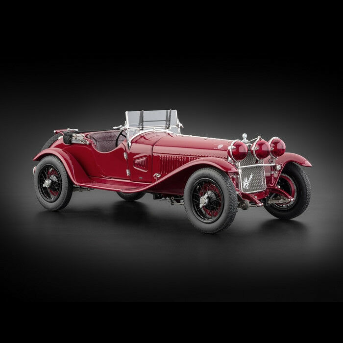 wiring and datasheet on alfa romeo m-138 romeo 6c 1750 gran sport 1930  1 18 cast car authorized