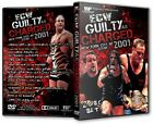 ECW Wrestling: Guilty As Charged 2001 DVD, Rhino Sandman Tommy Dreamer Francine