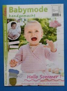 große Sammlung Heiß-Verkauf am neuesten Genieße den niedrigsten Preis Details zu Babymode handgemacht by Andrea Kreativ Nr.3 2019 Hallo Sommer  ungelesen 1A